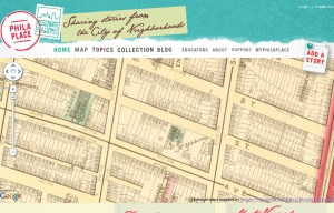 This 1875 map from the HSP.org website shows the Mitcheson property in Spring Garden.