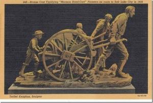 Handcart Pioneers Postcard pg. 1 - 1939_thumb[1]