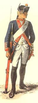 Hessian Soldier Illustration