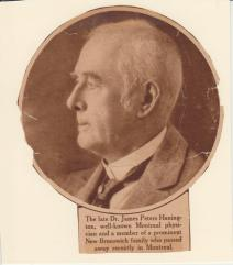 Dr James P Hanington
