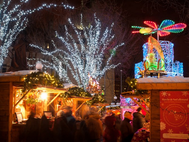 The 2015 German Christmas Market in Quebec City, http://www.noelallemandquebec.com/