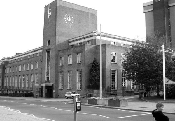 NAAAFI Building, Plymouth Devon c. 1961