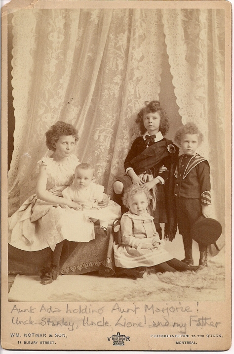 1891-Children of RobertLindsay&MaryHBagg