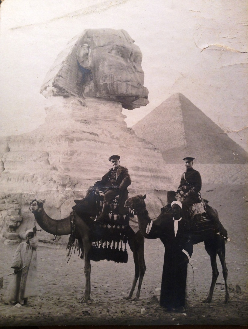 Cairo, Egypt - Dec 7, 1915 - Lt Col Anglin
