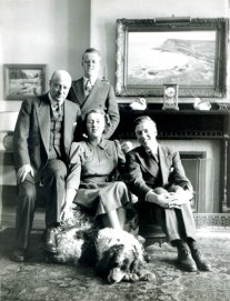 Wendling & Josephine Anglin and sons Bill and Tom (1940)