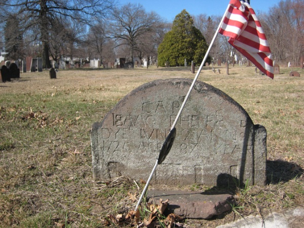 capt Isaac Phelps d 1725 age 87