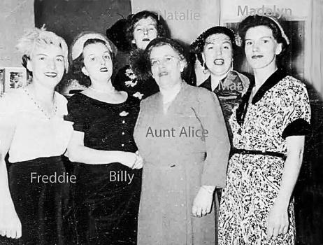 Aunt Alice border