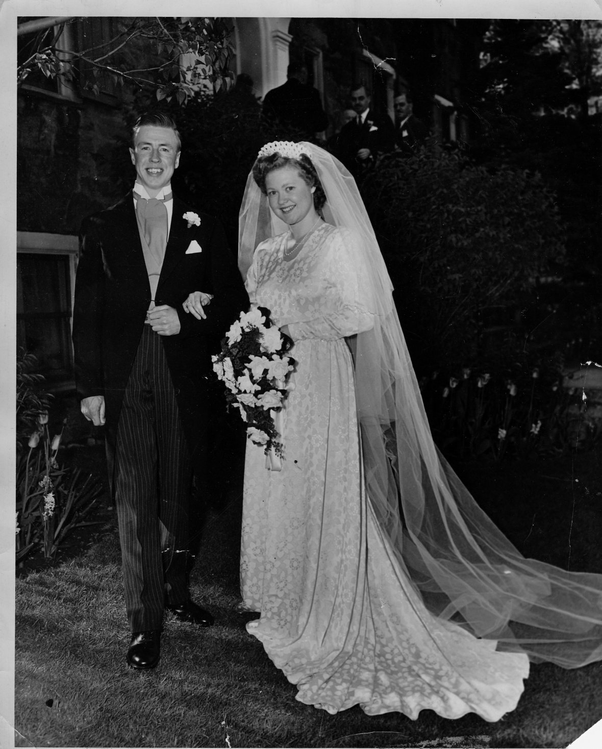 1947 May Wedding - Ann and her Tommy