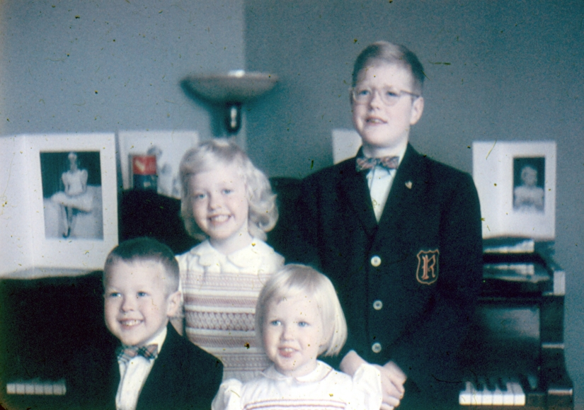 1959 - The Anglin Children