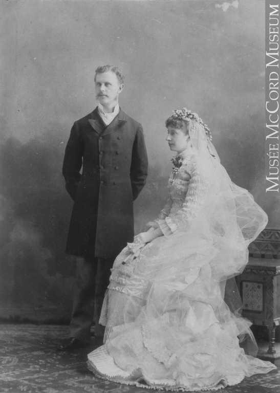 Robert and Mary Heloise Wedding day