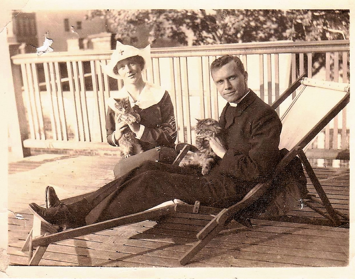 Sydenham and Marguerite Lindsay