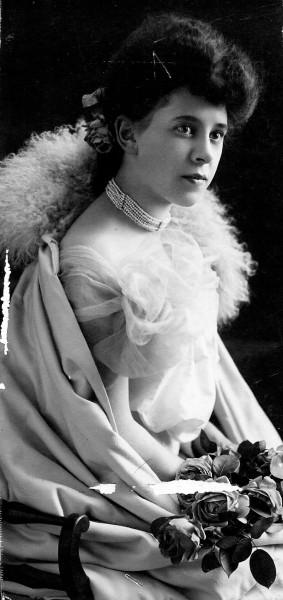 The bride, Lillian Forrester