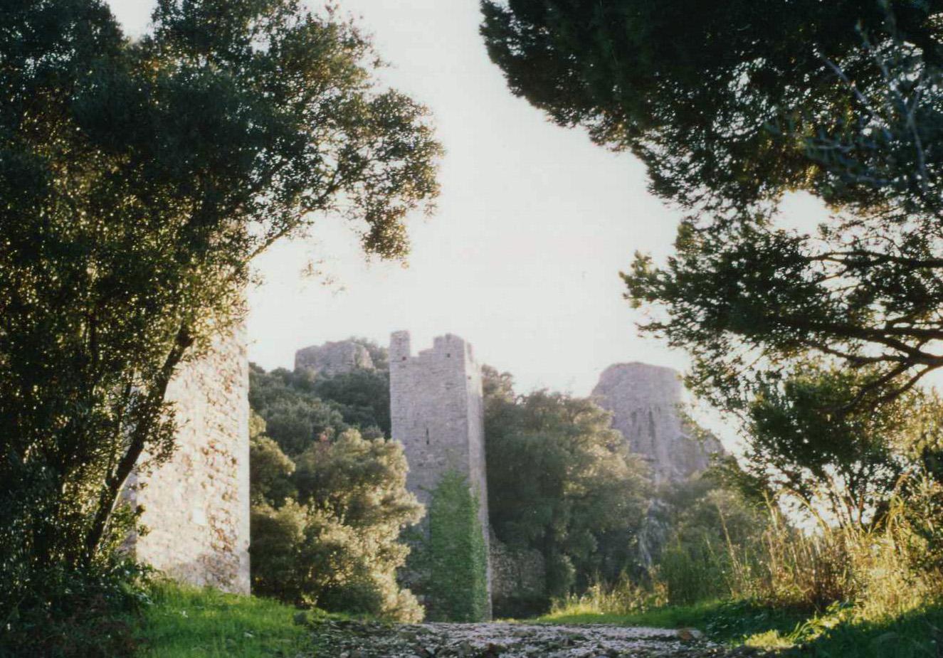 Hyeres castle ruins